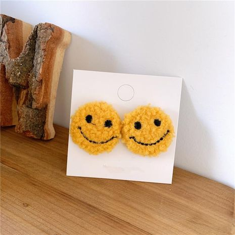 Wool suede face temperament earrings NHYQ174999's discount tags