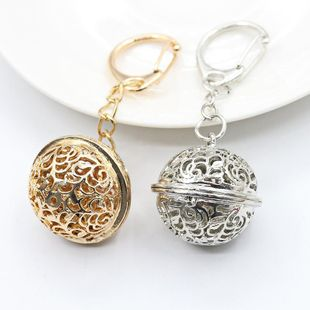Palace bell accessories key ring alloy hollow ornaments NHDP175045's discount tags