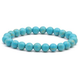 8mm colorful malachite bracelet natural stone DIY beaded bracelet jewelry NHYL175516's discount tags