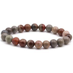 Hot 8mm Ocean Stone Bracelet Natural Stone DIY Beaded Bracelet NHYL175519's discount tags