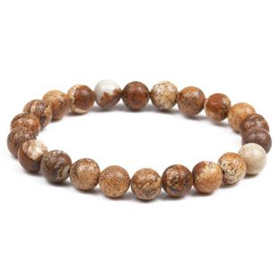 New product picture stone beaded bracelet Buddha head beads bracelet jewelry NHYL175525's discount tags
