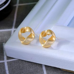 Simple earless ear clip female new small commuter earrings NHQD175410's discount tags