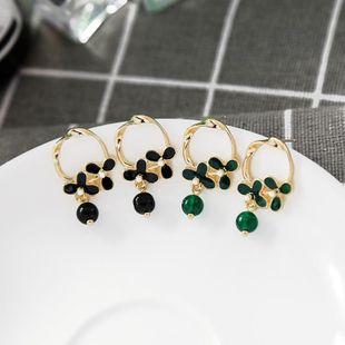 Fashion S925 Silver Stud Earrings Creative Geometric Commuter Earrings Flower Earrings NHQD175417's discount tags