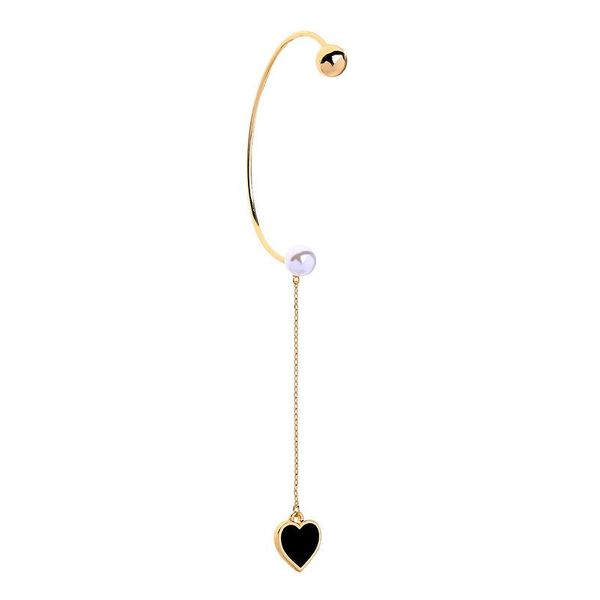 Earrings female drop oil girl love long ear hook new earrings NHQD175436
