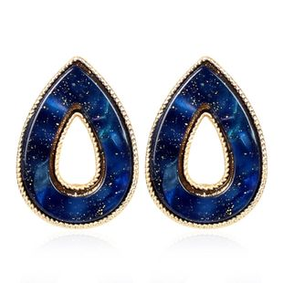 New drop earrings creative resin plate fashion geometric candy color earrings female NHCT175214's discount tags