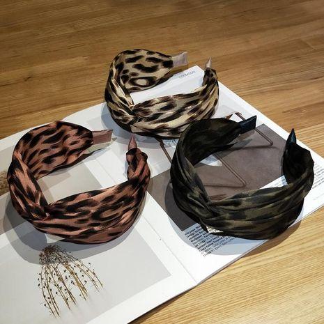 Headband simple fashion hair accessories bow hairpin side leopard head hoop head jewelry NHOF175373's discount tags