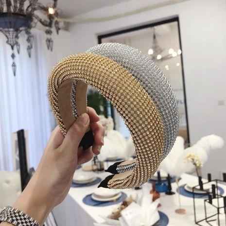 Hair alloy diamond super flash sponge light board headband women NHSM175227's discount tags