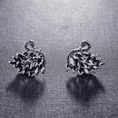 Fashion Crystal Swan Stud Earrings Swan Stud Earrings NHLJ175280