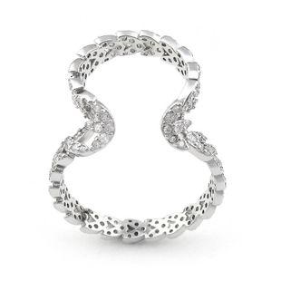 Pendientes de micro circonita con incrustaciones en forma de corazón clip de oreja simple para mujer hebilla de hueso NHLJ175847's discount tags