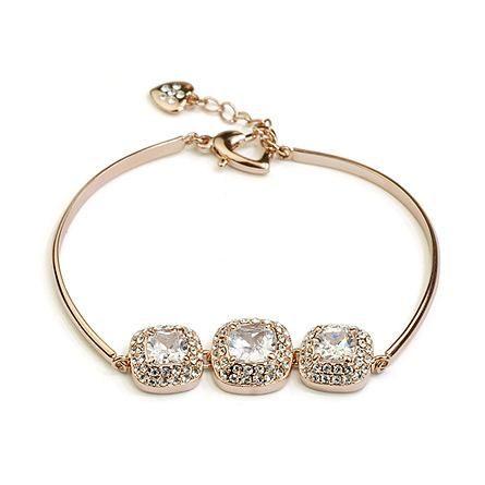 Temperament Diamond Zircon Bracelet NHLJ175850's discount tags