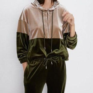 Abrigo de mujer otoño terciopelo NHAM175592's discount tags