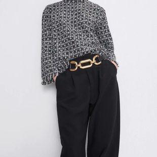 Camiseta de invierno suave para mujer NHAM175624's discount tags