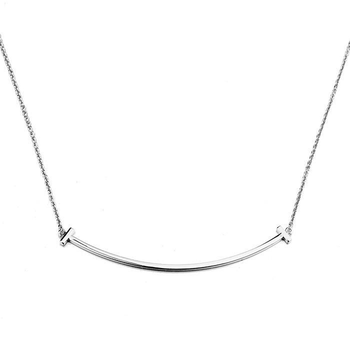 New fashion smile word necklace simple alloy pendant temperament clavicle chain NHLJ175929