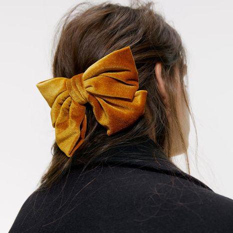 Pince à cheveux noeud en velours mode NHMD175902's discount tags