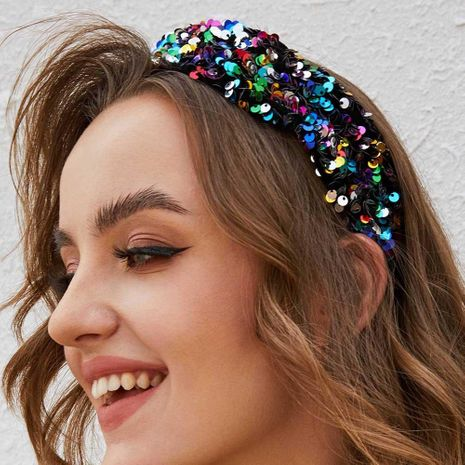 Hot boutique headband fashion super shiny piece more colorful hair accessories NHMD175879's discount tags