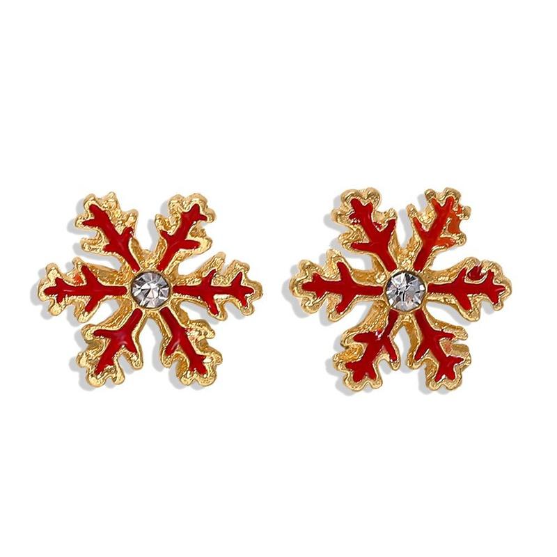 New alloy diamond stud earrings simple earrings accessories NHJQ176171