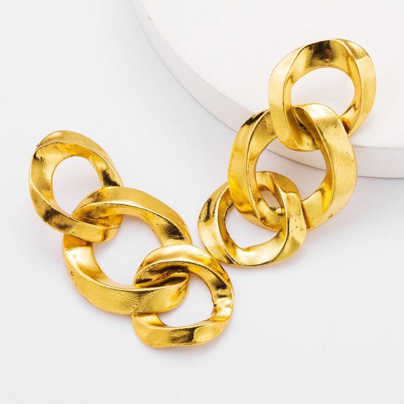 Creative alloy chain earrings female earrings new NHJE176150