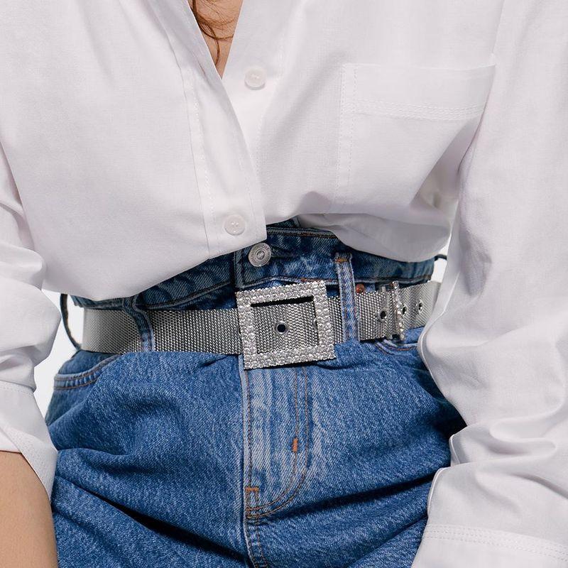 Alloy diamond belt new accessories accessories fashion jewelry simple wild waist chain NHJQ176196
