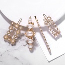 Alloy Pearl Hair Clip Set Hair Accessories Bridal Headdress NHJQ176173