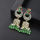 Stud Earrings Color Bells Pearl Womens National Wind Stud Earrings Gifts NHTM175992