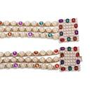 Alloy Diamond Jewel Pearl Belt Fashion Accessories Accessories Luxury Belt NHJQ176194