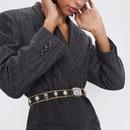 Alloy diamond belt fashion trend belt new clothing accessories NHJQ176197