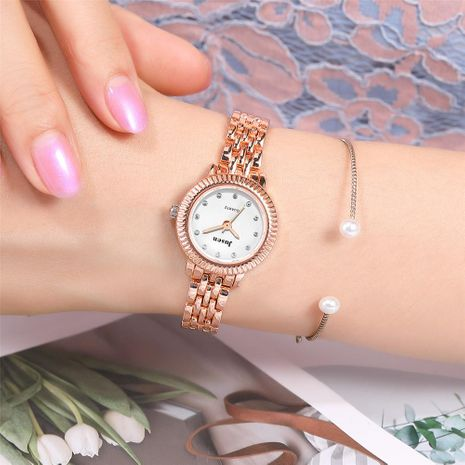 Fashion Diamond Female Student Bracelet Watch Lady Temperament Quartz Casual Watch Female NHSY176293's discount tags