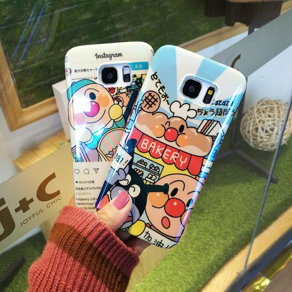 Blu-ray cartoon bread Superman s9 Samsung S8 Mobile Shell Note8 Cover S7edge Soft Shell NHDV176316