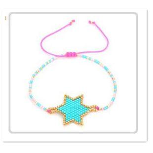 Miyuki bracelet DB antique rice beads hand-woven female jewelry six-star NHGW176427's discount tags