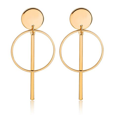 Simple hollow tassel earrings earrings long earrings NHDP176411's discount tags