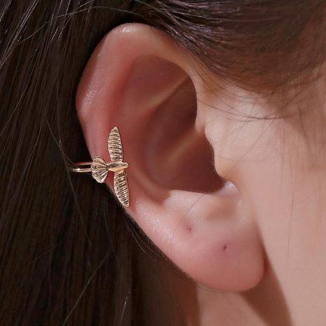 Moda simple pájaro clip de oreja retro sin oreja solo pájaro oreja clip de hueso tendencia hombres y mujeres pendientes NHDP176376's discount tags