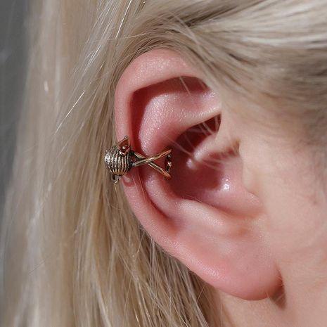 Pendientes de animales clip de hueso de oreja de ratón clip de oreja indoloro simple en forma de U hombres y mujeres pendientes falsos NHDP176382's discount tags