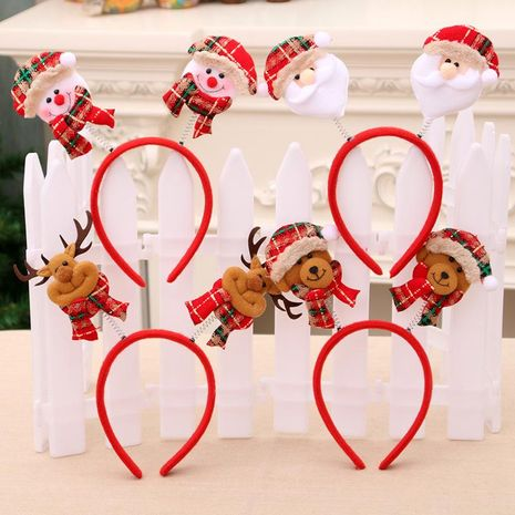 New Christmas Headband Headband Headband Child Gift Christmas Party Supplies Christmas Decoration NHMV176261's discount tags