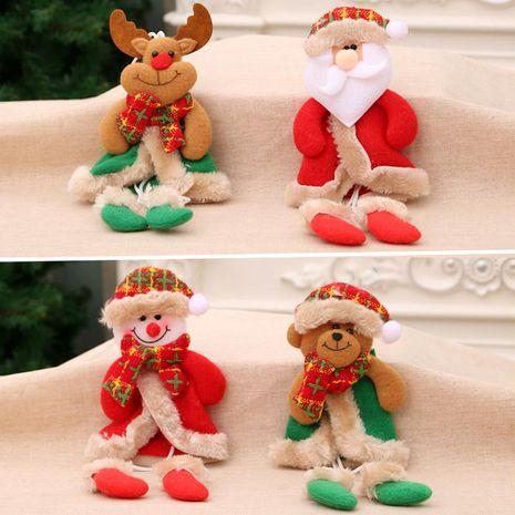 Christmas Ornaments Christmas Legs Pendant Christmas Gifts Small Fabric Christmas Tree Pendant Small Dolls NHMV176266's discount tags