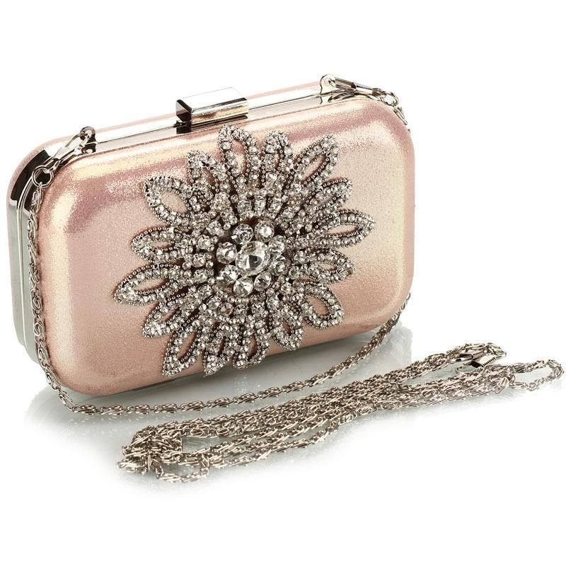 Fashion handbags new diamond package sun flower evening party package NHYG176855