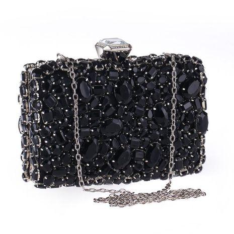 Bolso de noche acrílico con incrustaciones de diamantes y bolso de banquete con una mano NHYG176863's discount tags