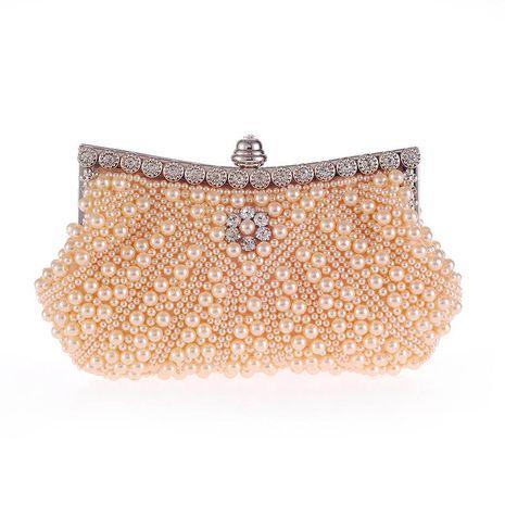 Nuevo Diagonal Pearl Belt Diamond Fashion Dinner Bag Bolso Bolso bordado con cuentas NHYG176864's discount tags
