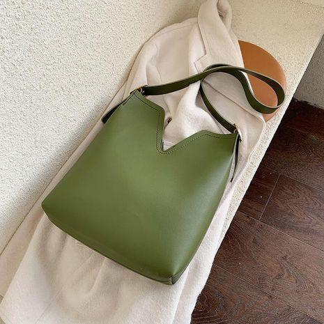 Bolsos de bolsos de gran capacidad nueva moda bolso de hombro simple bolso de moda bolso NHTC176724's discount tags