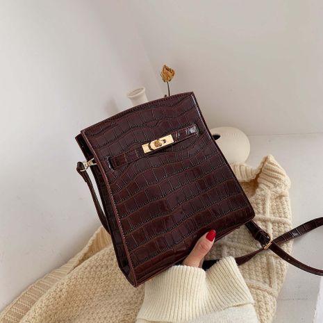 Bolsos con patrón de cocodrilo nueva moda bolsa de viaje bolso de hombro bolsa de mensajero NHTC176725's discount tags