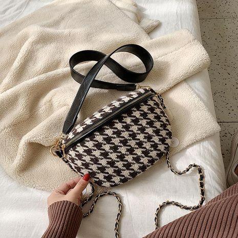Bolso de lana bolso de pecho de hombro de cadena de nueva moda femenina NHTC176727's discount tags