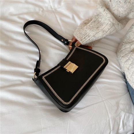 Bolso pequeño femenino nuevo bolso cuadrado pequeño bolso de hombro de moda NHTC176736's discount tags