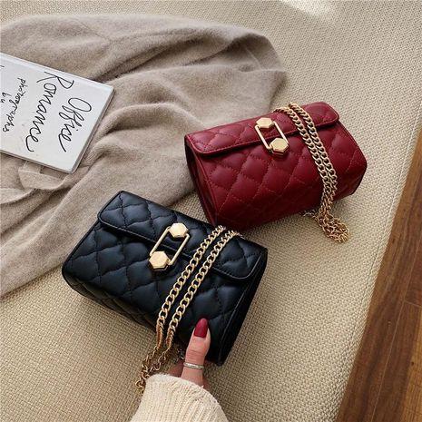 Nube bolso femenino nuevo bolso de cadena rómbica pequeña fragancia solo hombro colgado pequeño bolso cuadrado NHXC176740's discount tags