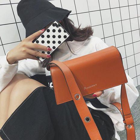 Nuevo bolso de hombro de cadena simple bolso cuadrado pequeño correa de hombro ancha de moda bolso de mensajero femenino NHXC176745's discount tags