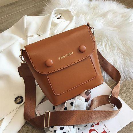 Retro Sen bolso pequeño nuevos bolsos de moda océano cubo bolsa textura hombro bolsa de mensajero NHXC176769's discount tags