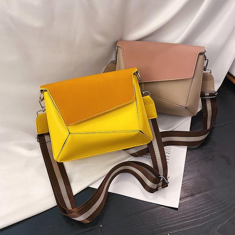 New female small bag female 2019 new fashion women's bag broadband small square bag Korean version of the wild ins slung shoulder bag NHXC176772