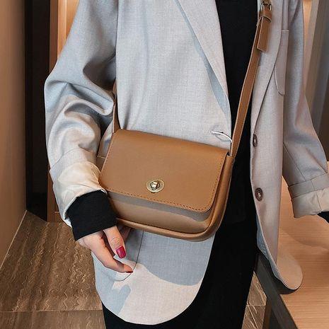 Bolso cuadrado pequeño retro color liso flip diagonal bolso pequeño bandolera mujer NHXC176778's discount tags