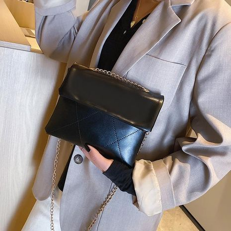 Bolso femenino 2019 new wave moda coreana salvaje Messenger bag retro estilo Hong Kong elegante cadena hombro sobre bolso NHXC176779's discount tags