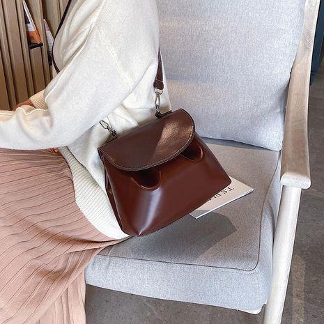 Correa de hombro pequeña bolso de hombro retro de la PU en otoño e invierno bolso de mujer marea paquete diagonal salvaje NHXC176780's discount tags