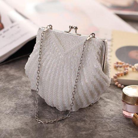 Bolso de fiesta de noche bordado con cuentas de Shell bolsos bordados a mano bolso de vestir bolso cheongsam retro NHYG176835's discount tags