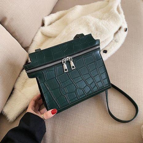 Bolso retro mujer nueva textura Messenger bag fashion bolso cuadrado pequeño NHTC176721's discount tags